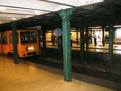 Budapest in Hungary - Metro Old #5