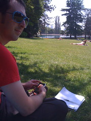 grading in the park