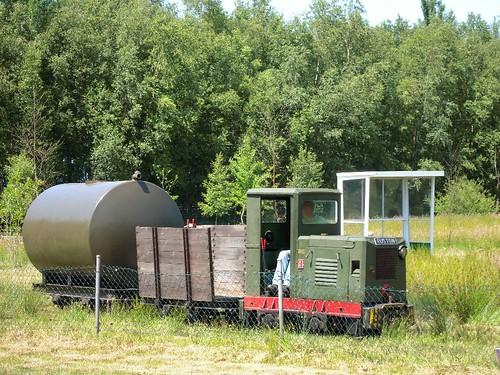 loc 66 met leger trein