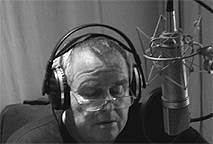 Claus im Studio