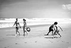 Two Worlds, Seminyak, Bali (JediSavant) Tags: leica blackandwhite bw bali beach football ditch availablelight soccer streetphotography photojournalism m8 reportage seminyak strolling keep1 keep2 keep3 keep4 deletedbydmu ditch2 summarit3525 ditch3 ditch6 ditch8 ditch9 ditch10 ditch4 ditch5 ditch7