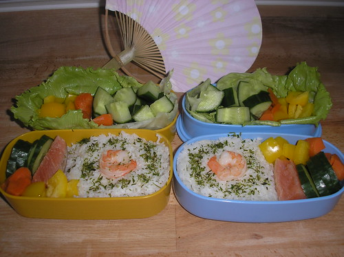 Two bentos for a convention