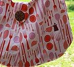 Lizzie Dish Silverware Swing Bag