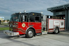 Orlando Fire Department. Engine 10. (RJACBclan) Tags: firetrucks fireengines ofd firestations sutphen engine10 orlandofiredepartment orlandofireengines orlandofiretrucks orlandofirestations orlandoengine10 orlandofiredepartmentengine10