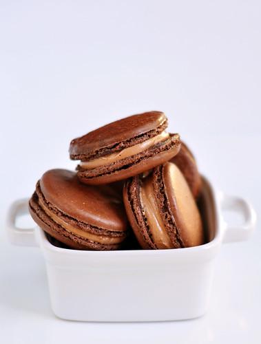 Chocolate Macarons 3