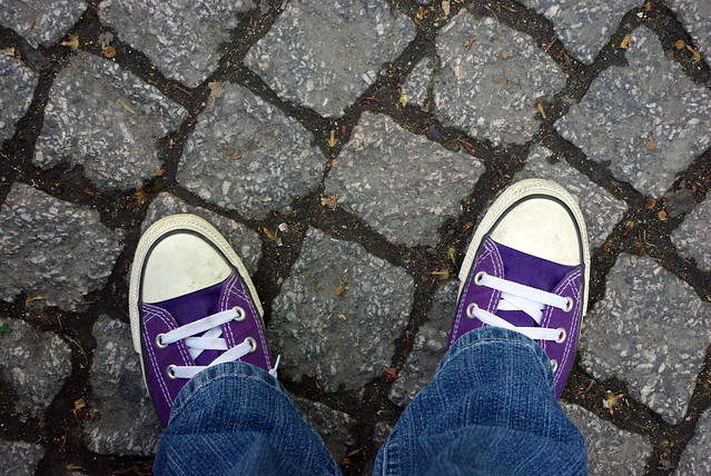 My feet. Montmartre, Paris