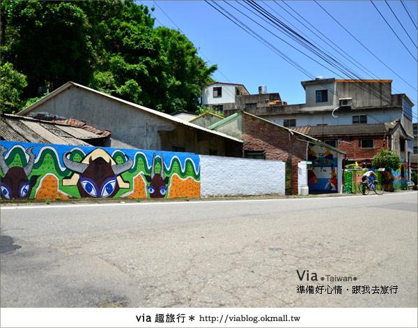 【彩繪客家村】驚豔,彩繪村!新竹竹東鎮軟橋社區尋彩趣15