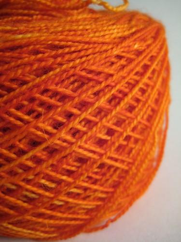 Citrus Madelinetosh glazed sock