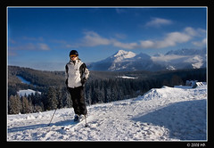 It's time to go skiing (Mariusz Petelicki) Tags: winter skiing poland polska zima tatry tatramountains canon400d grażyna małeciche mariuszpetelicki