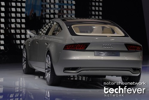 2009 Audi Sportback Concept. Audi Sportback concept at the