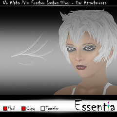 Essentia No Alpha Prim Feather Lashes Silver