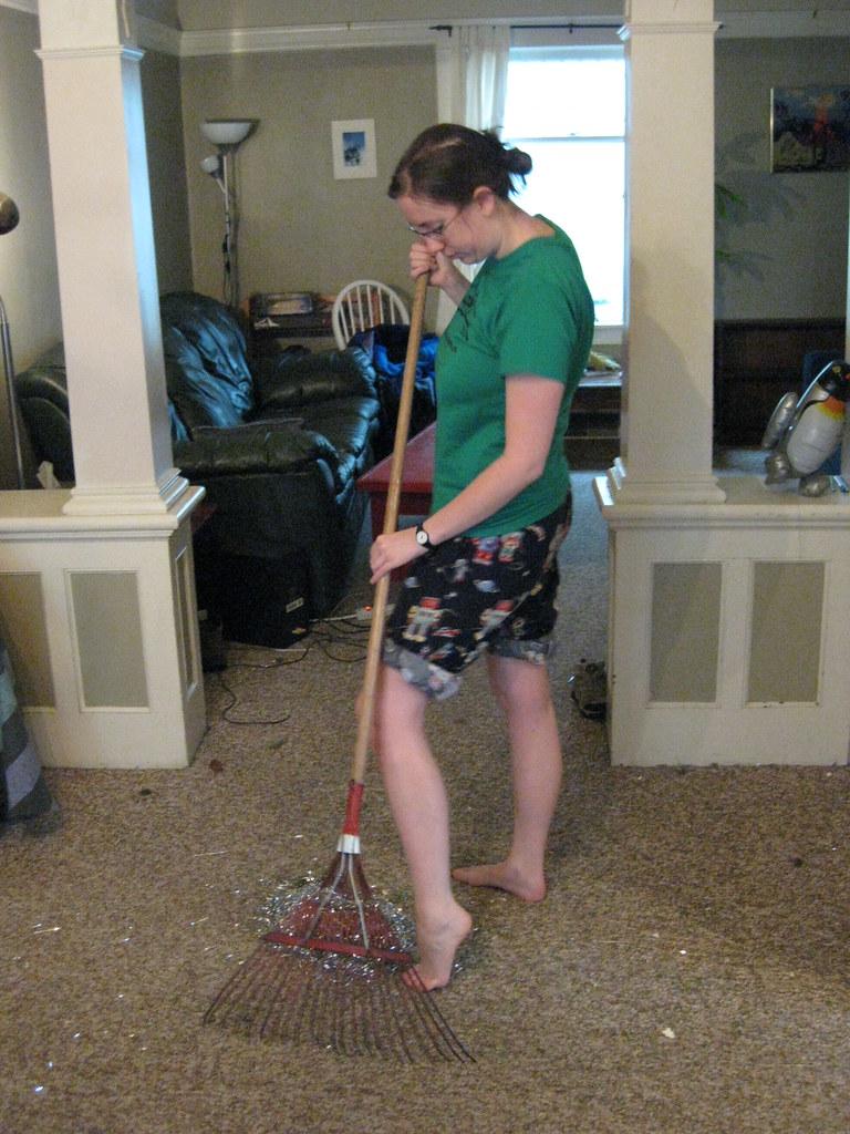 10: Raking the Carpet
