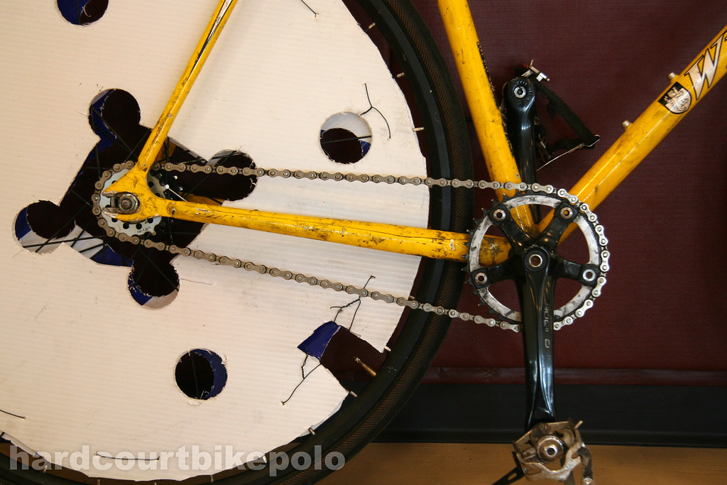 Joe's hardcourt polo bike drivetrain