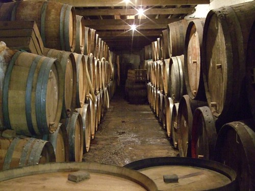 Cantillon Inside. Barrels
