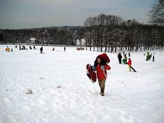 Owen's personal ski lift