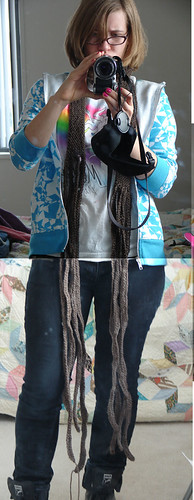 long fringe scarf