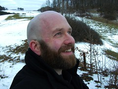 shaved bear (mbaer211) Tags: bear gay winter me village hiking near shaved bald