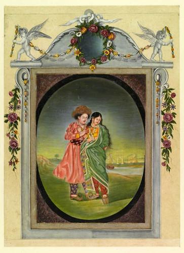 022- Pintura india siglos XVIII- XIX