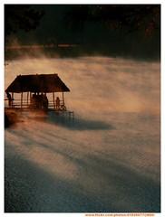 Morning Mist (Photo by Panadda_K) (Araleya) Tags: life morning light mist lake fog thailand flying asia southeastasia wind north earlymorning reservoir valley romantic maehongson bamboohouse แม่ฮ่องสอน วิว pangung หมอก ปางอุ๋ง lightspotted panaada โรเเมนติก flyingfog