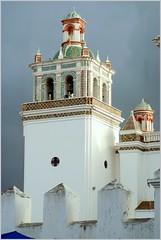Torre de igreja (se.shira) Tags: tower titicaca lago torre cathedral catedral bolivia copacabana igreja duetos frenteafrenteespecial
