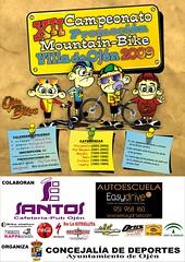 XII Campeonato Promoción Mountain Bike Villa de Ojén 2009 - Málaga