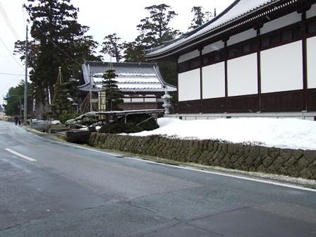 善寶寺~入口へ