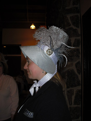 Katie's lovely bonnet