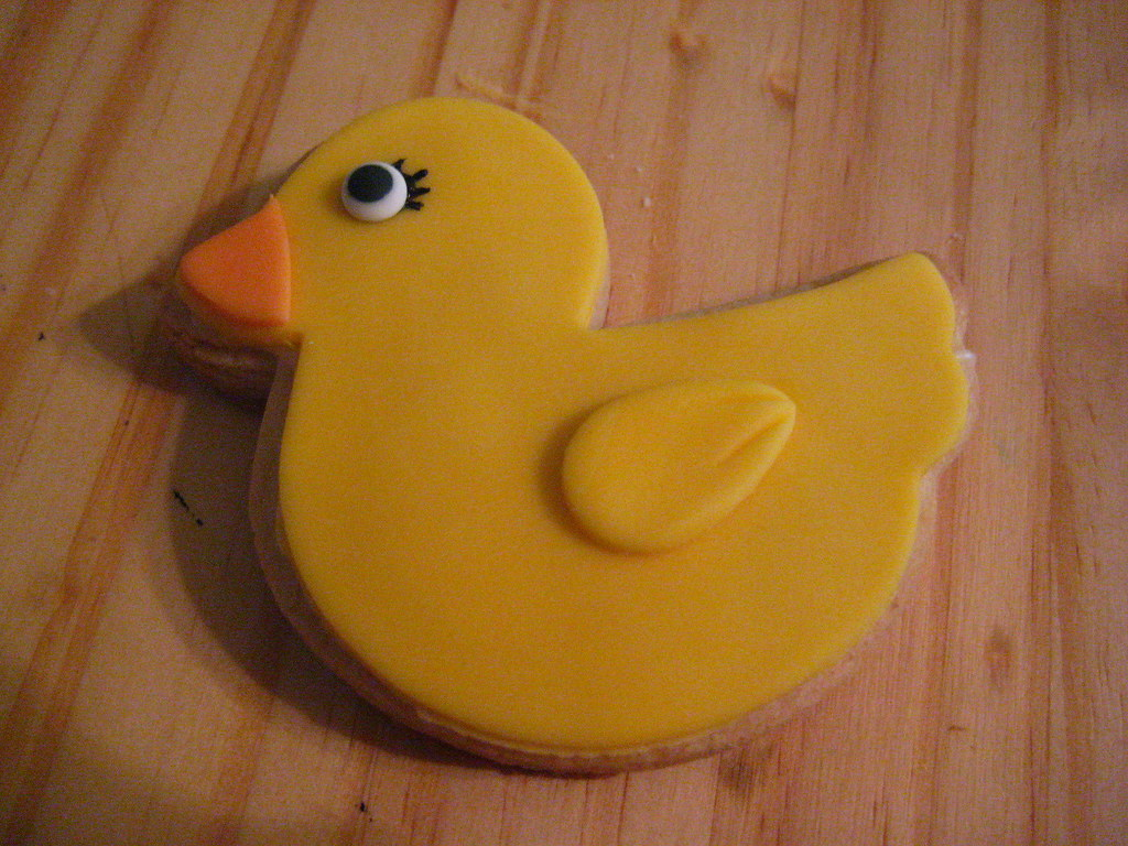 Baby Shower Duck Cookies baby shower games for guys to play