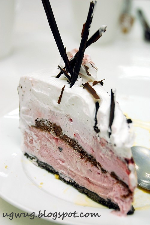 Black Forest Ice Cream Cake