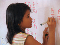 maths in classroom