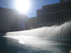 Bellagio Casino Fountains