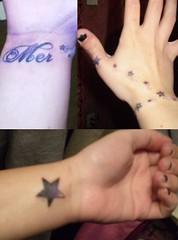 Wrist tattoo! (ohmermazing) Tags: tattoo star hand wrist