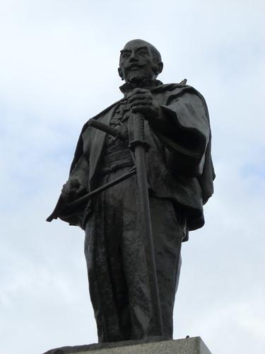 大友宗麟像/Statue of Otomo Sorin