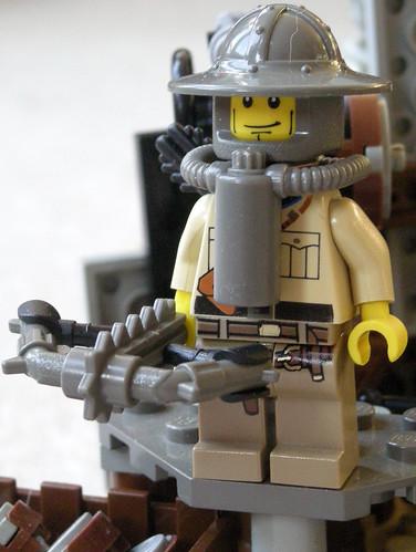 Apocalyptic Knight custom minifig