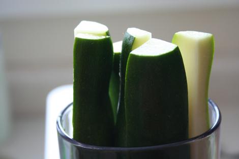 zucchini process