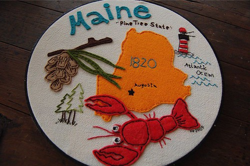 Maine, finished