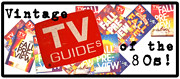 Vintage TV Guides of the 80s