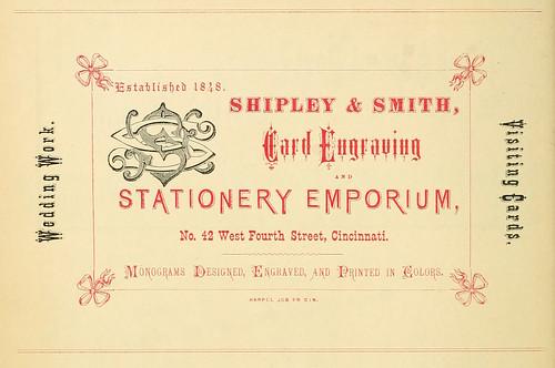 Harpel's typograph