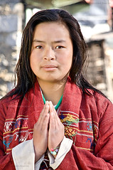 Namaste ~ Greetings from a Monpa Tribal Girl, Arunachal Pradesh, India (Jitendra Singh : Indian Travel Photographer) Tags: travel india girl young tribal greetings traditionaldress namaste jiten jitendra arunachalpradesh monpa jitender jitendrasingh indiaphoto bestphotojournalist wwwjitenscom gettyphotographer bestindianphotographers jitensmailgmailcom wwwindiantravelphotographercom famousindianphotographer famousindianphotojournalist gettyindianphotographer