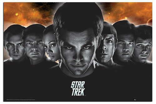 Star-Trek-Crew-Poster-402, star trek wallpapers, startrek enterprise voyage, Star trek characters