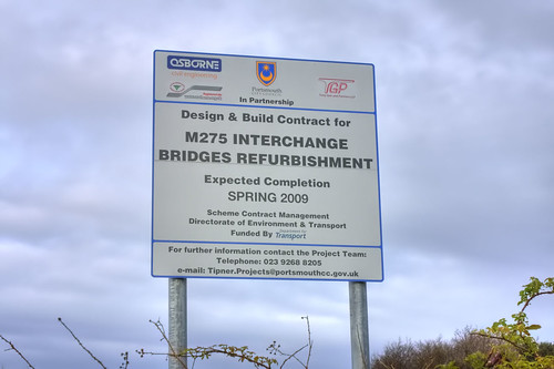 Tipner M275 Ghost Junction Completion Spring 2009