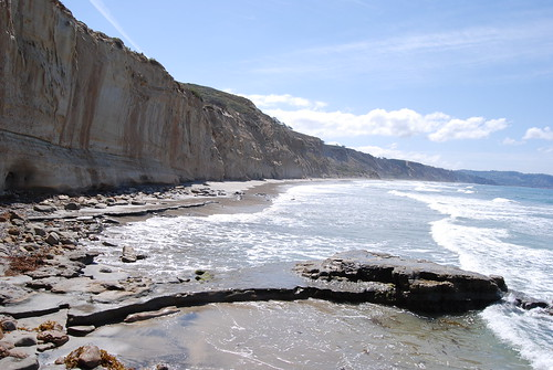 Cliffs and beach