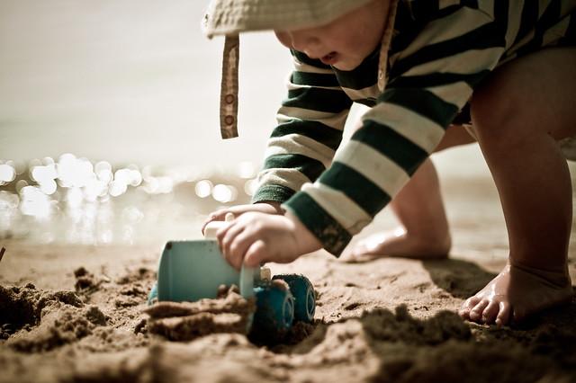 101 365 Diggy digging with a digger