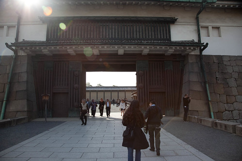 Old imperial palace gates