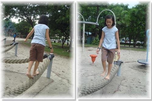 你拍攝的 平衡繩。