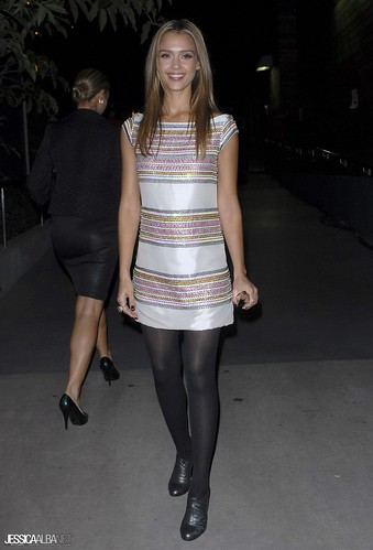 Jessica Alba in Pantyhose, Tights - a photo on Flickriver