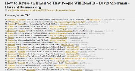 Retweetist - popular URLs