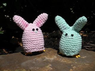 Ravelry: Amigurumi Bunny Egg Cozy pattern by Lion Brand Yarn