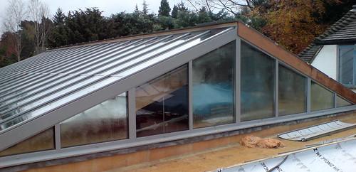 Large Aluminium Glazed Rooflights Skylights Roof