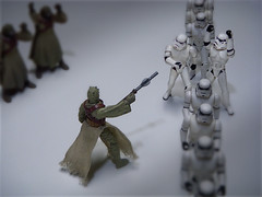 """Single File!"" (JD Hancock) Tags: favorite white trooper toy actionfigure star starwars interesting funny action stormtroopers humor explore cc figure stormtrooper wars 5k 1k veryinteresting sandpeople thesecretlifeoftoys nogeo inkitchen jdhancock"